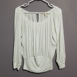 Soft Joie Gathered 3/4 Sleeve Blouse